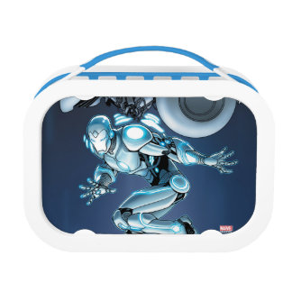 Superior Iron Man Suit Up Lunch Box
