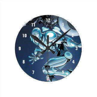 Superior Iron Man Suit Up Round Clock