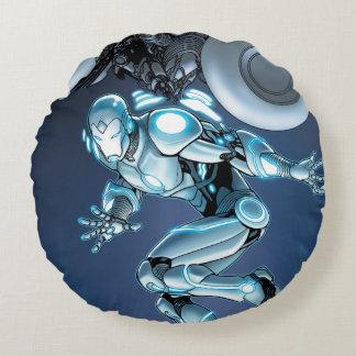 Superior Iron Man Suit Up Round Cushion
