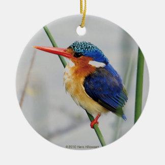 Superior product of kingfisher round ceramic decoration