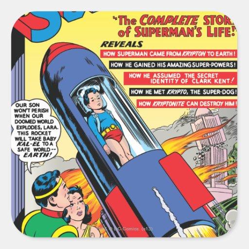 Superman #146 stickers