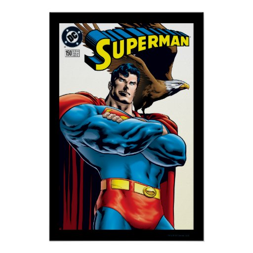 Superman #150 Nov 99 Poster