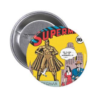 Superman #16 6 cm round badge