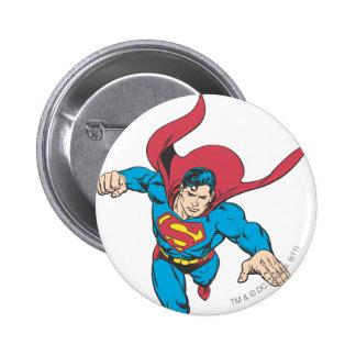 Superman 19 6 cm round badge
