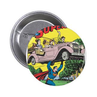 Superman #19 6 cm round badge