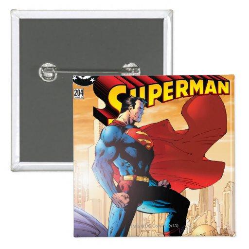 Superman #204 June 04 Pins
