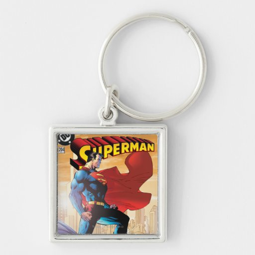 Superman #204 June 04 Key Chain