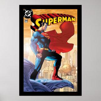 Superman 204 June 04 Poster