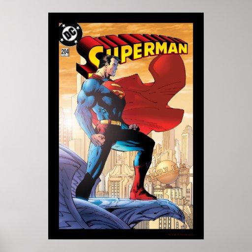 Superman #204 June 04 Poster