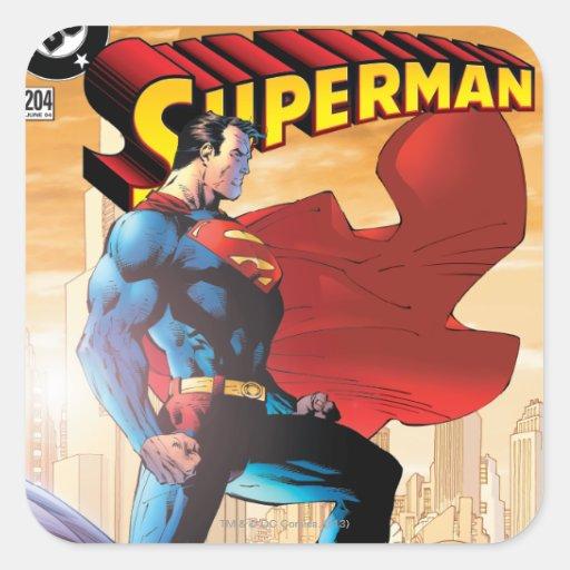 Superman #204 June 04 Sticker