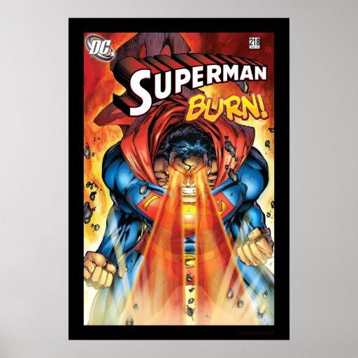 Superman #218 Aug 05 Poster