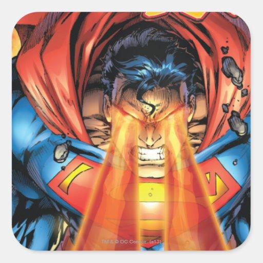 Superman #218 Aug 05 Square Stickers