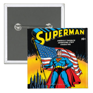 Superman 24 button
