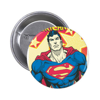 Superman 29 6 cm round badge