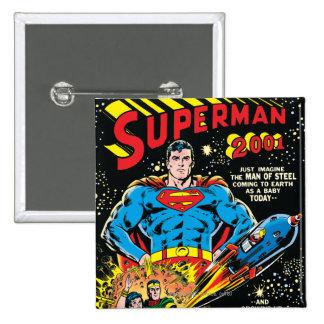 Superman #300 pin