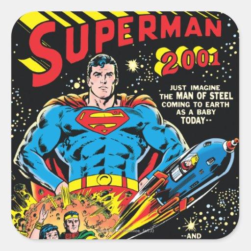 Superman #300 stickers
