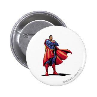 Superman 3 6 cm round badge