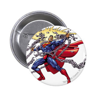Superman 52 6 cm round badge