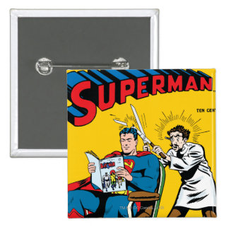Superman 52 pinback buttons