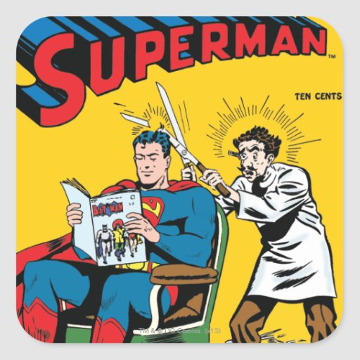 Superman #52 stickers
