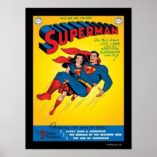Superman #57 print