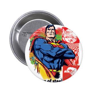 Superman 58 6 cm round badge