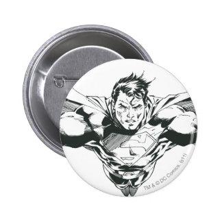 Superman 60 6 cm round badge