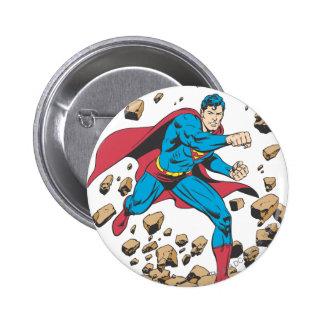 Superman 62 6 cm round badge