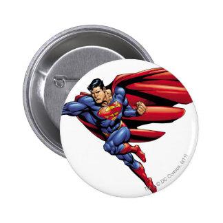 Superman 73 6 cm round badge