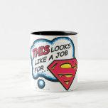 Superman 74 Two-Tone mug