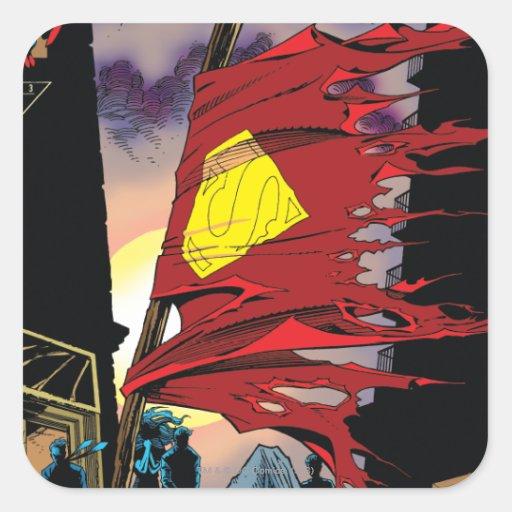 Superman #75 1993 stickers