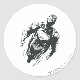 Superman 78 round sticker