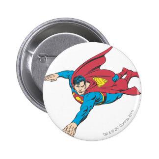Superman 90 6 cm round badge