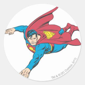 Superman 90 round sticker