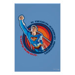 Superman A Never-ending Mission Poster