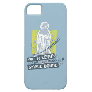 Superman Able to Leap Tall Buildings Barely There iPhone 5 Case