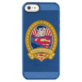 Superman American Hero Clear iPhone SE/5/5s Case