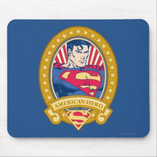 Superman American Hero Mouse Pad