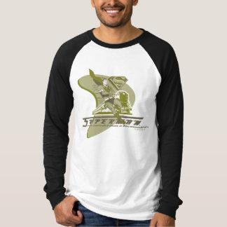 Superman and Train T-Shirt