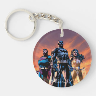 Superman, Batman, & Wonder Woman Trinity Key Ring