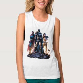 Superman, Batman, & Wonder Woman Trinity Singlet