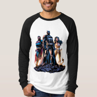 Superman, Batman, & Wonder Woman Trinity T-Shirt