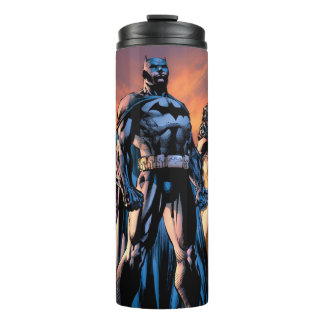 Superman, Batman, & Wonder Woman Trinity Thermal Tumbler