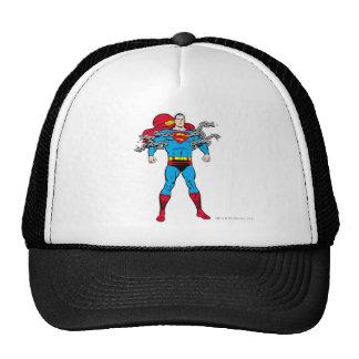 Superman Breaks Chains Cap