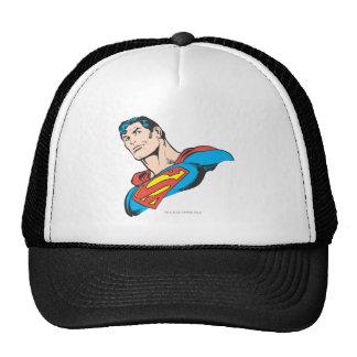 Superman Bust 3 Mesh Hats