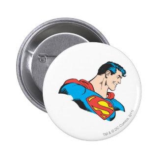 Superman Bust 4 6 Cm Round Badge