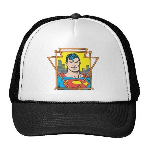 Superman Bust Trucker Hats