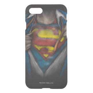 Superman | Chest Reveal Sketch Colorized iPhone 7 Case