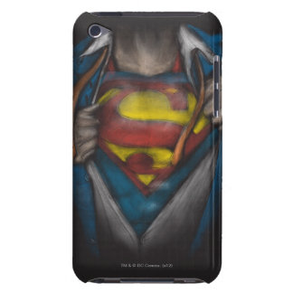 Superman   Chest Reveal Sketch Colorized iPod Touch Covers