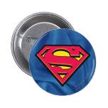 Superman Classic Logo 6 Cm Round Badge